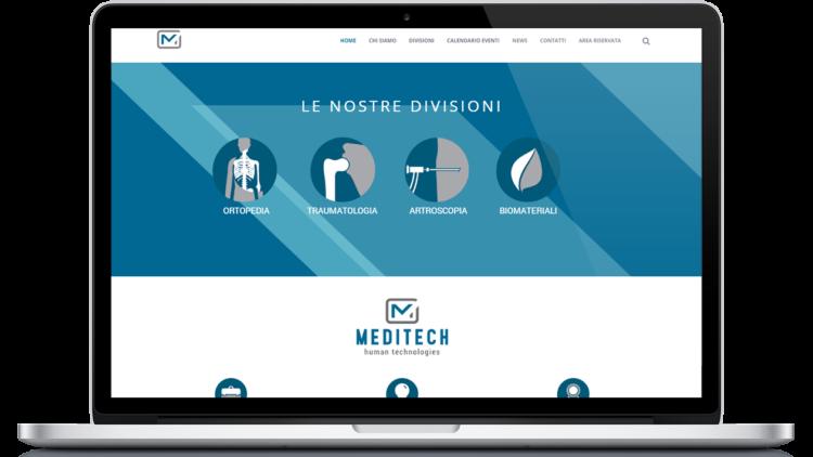 Il nuovo sito web di Meditech è online